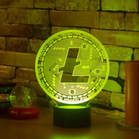 Лампа LiteCoin (Лайткоин)