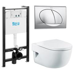 Кпить комплект инсталляции Roca ПЭК с унитазом Meridian Compact в Краснодаре