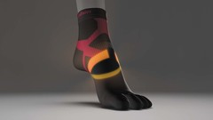 Носки PHITEN 5 TOE SOCKS (SOCKING) RACER SLIM