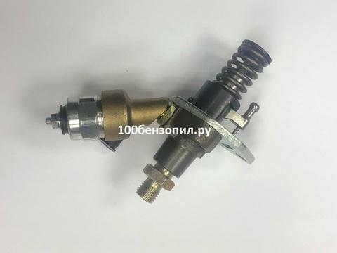 Топливный насос дизельного двигателя 186 F c электроклапаном