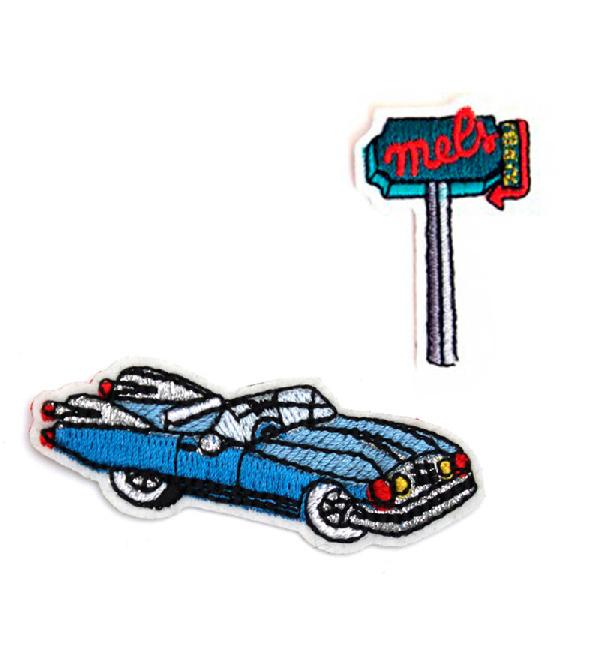 Патч-Cadillac-_-Traffic-Signs-от-дизайнеров-Macon_Lesquoiy