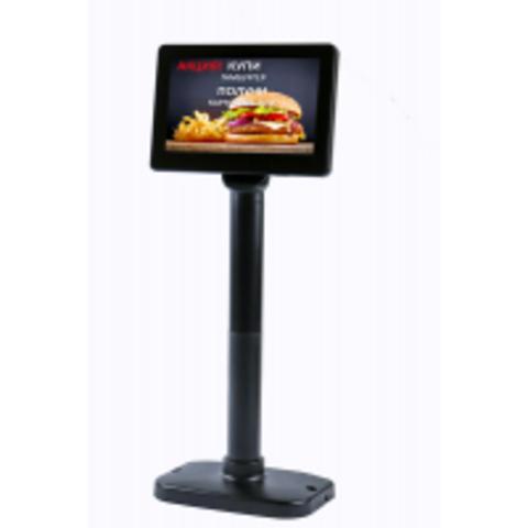 Дисплей покупателя АТОЛ PD-7000, USB, LCD 800*600, черный