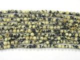 Нить Бисера из яшмы далматинец, шар гладкий 2мм