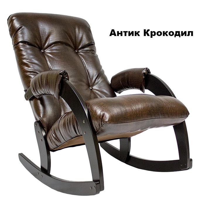 Классические Кресло-качалка Модель 67 Экокожа 67_AnticCroc_venge_1.jpg