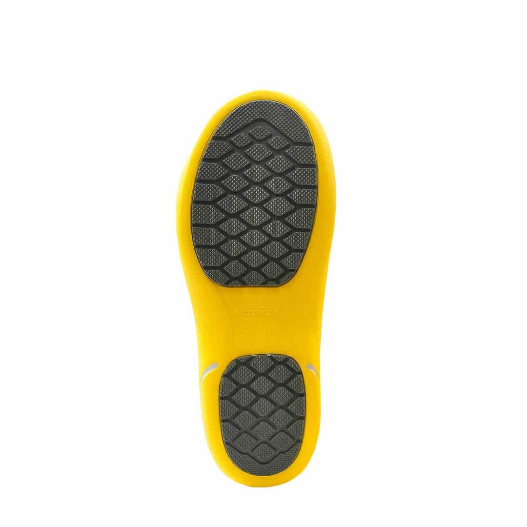 Сапоги утепленные эва Nordman Kleo желтые с флисом
