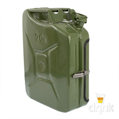 Бар-канистра «Заначка от жены» 20 л, зеленая, фото 9