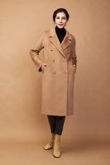 Пальто свободного силуэта