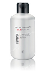 Тоник очищающий (Bruno Vassari | Collagen Booster | Clarifying Milky Toner), 200 мл