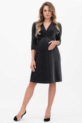 Платье для беременных 11334 черный