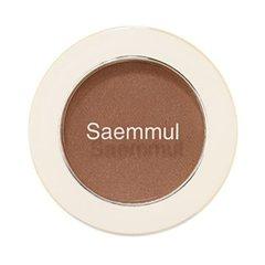 Тени для век матовые The Saem Saemmul Single Shadow Matte BR09 для натурального макияжа 1,6 гр