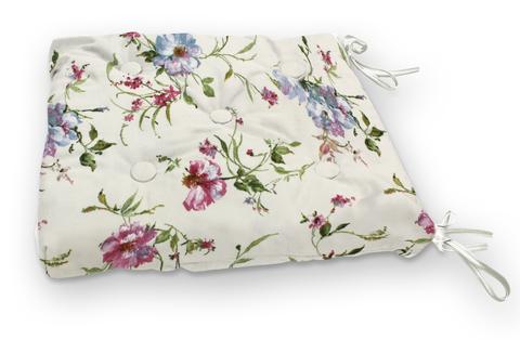 Подушка на стул Марго сиреневый