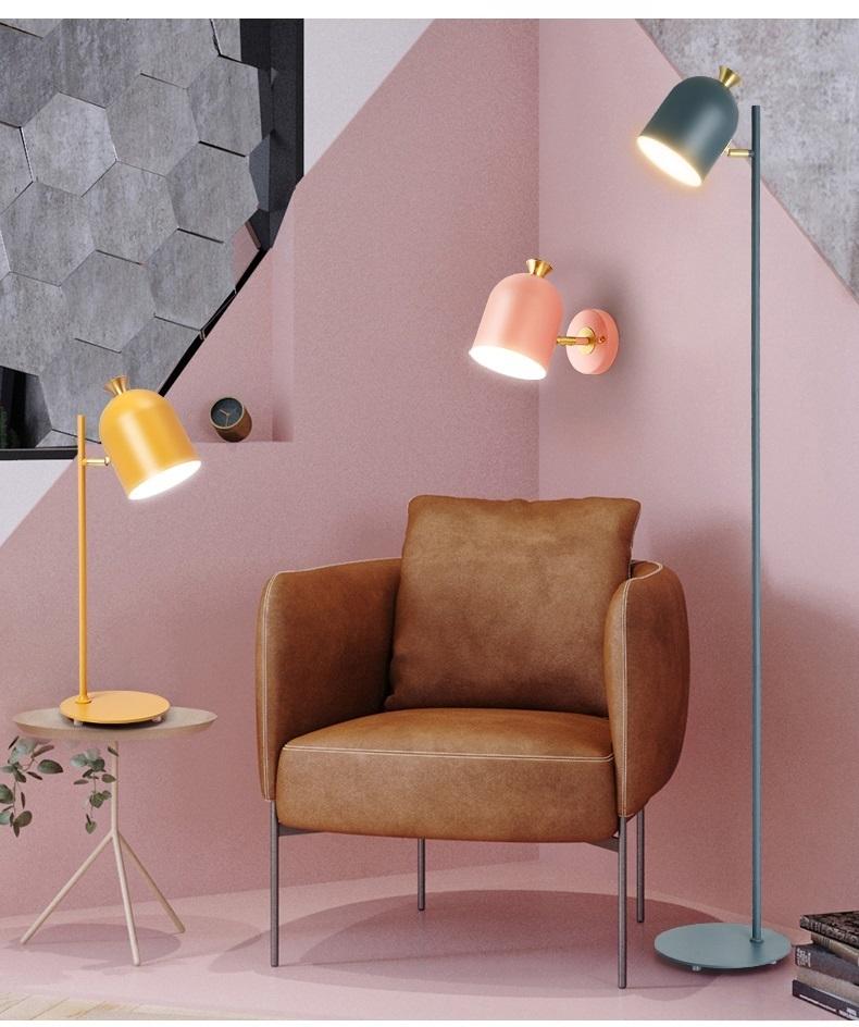 Настенный светильник Hood by Light Room (желтый)
