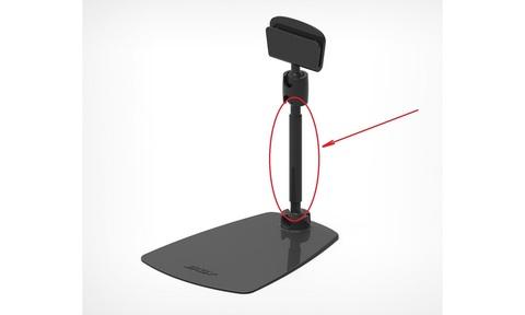 ROD-VL  удлинитель 100 мм для шарнирных ценникодержателей, черный