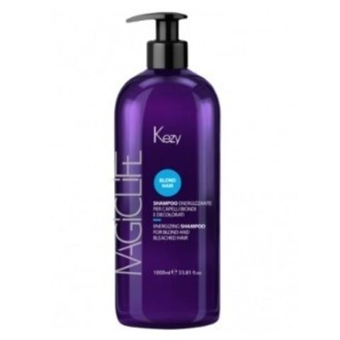 Kezy Magic Life Шампунь укрепляющий для светлых и обесцвеченных волос 1000 мл