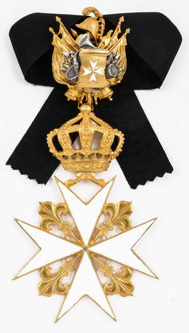 Орден св. Иоанна Иерусалимского большой (командорский), копия