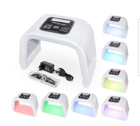 Светодиодная LED лампа OMEGA light - 7 цветов