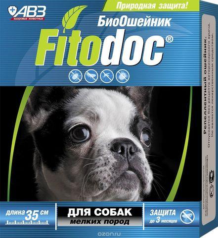 Фитодок ошейник для собак мелких пород