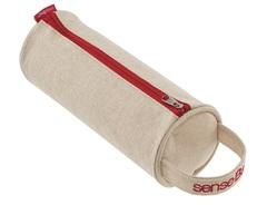 Пенал текстильный Copic senseBag 20 х 8 см круглый кремовый