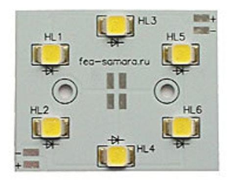 Кластер светодиодный 6 вт