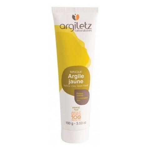 Маска для лица с желтой глиной для комбинированной кожи Argiletz, 100 гр