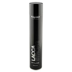 KAPOUS лак аэрозольный для волос сильной фиксации 500мл.