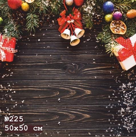 Фотофон виниловый «Рождество» №225