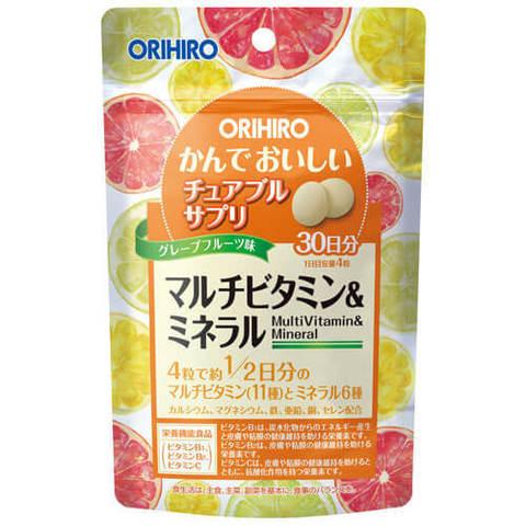 Orihiro Мультивитамины и минералы
