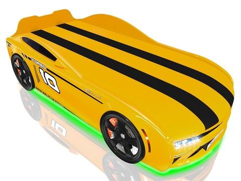 Кровать-машина Romack Energy-М Желтая