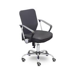 Кресло офисное Easy Chair 203 черное (ткань/сетка/пластик/металл)