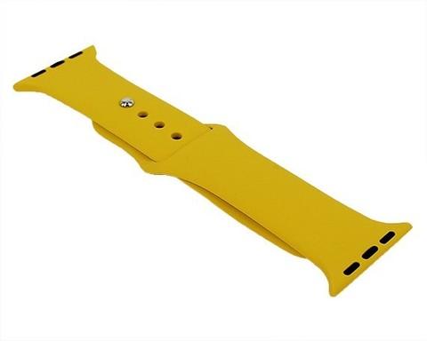 Ремешок для Apple Watch 38mm/40mm силиконовый | желтый