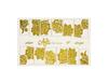 Фольга для дизайна ногтей цвет золото 47 купить за 120руб