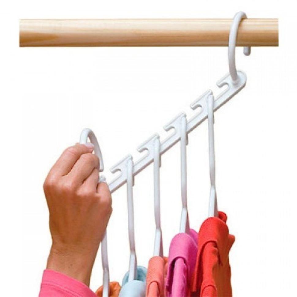 Вешалка для одежды в шкаф складная