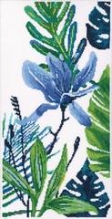 RTO M748 Голубой цветок №2