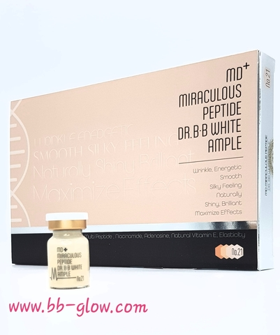 BB сыворотка MD+ Miraculous Peptide тон 21 (1 ампула 5 мл.) срок годности 27.05.2021