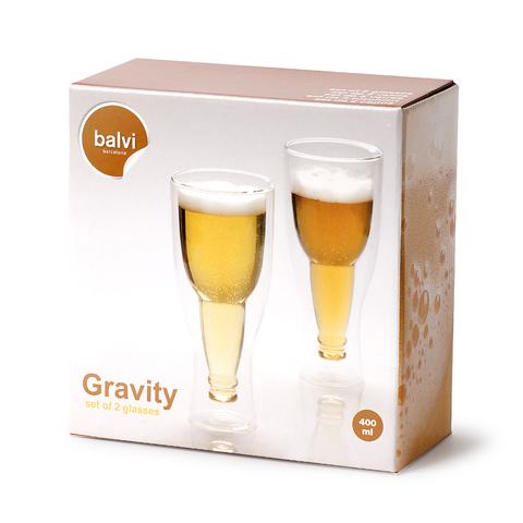 Набор пивных бокалов Gravity 400мл 2шт.