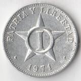 K8413, 1971, Куба, 1 сентаво