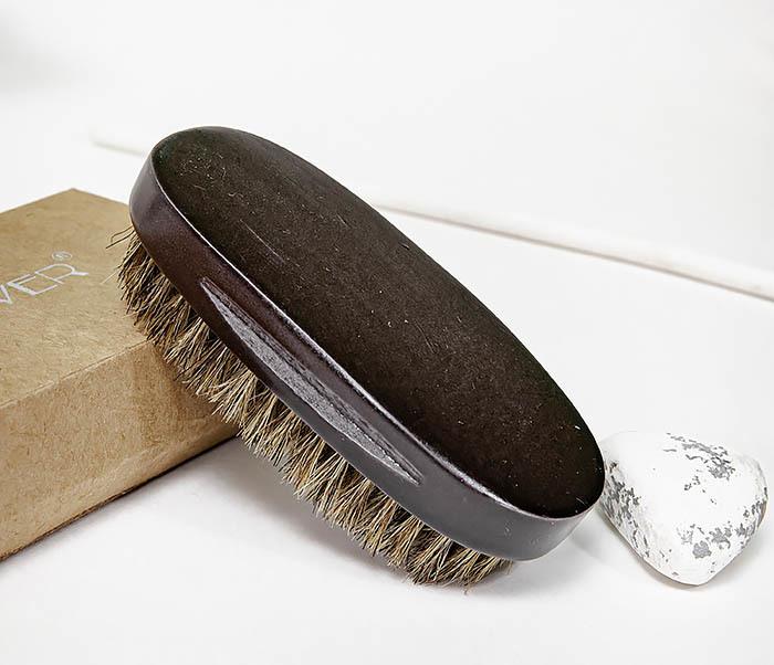 CARE150-1 Деревянная щетка для бороды в коробке фото 07