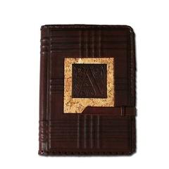 Ежедневник кожаный в стиле 19 века модель 38