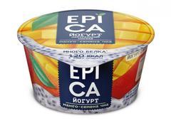 Йогурт «Epica» манго, семена чиа 5,0% 130 г