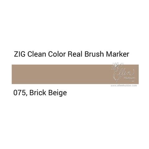 Маркер акварельный ZIG Clean Color Real Brush- штучно - 075