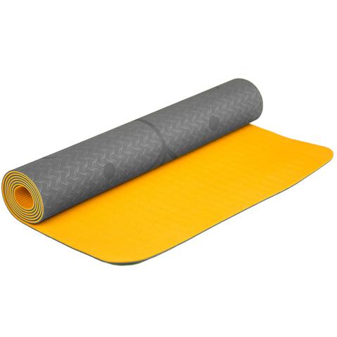 Коврик для йоги с разметкой Маракуйя 183*61*0,5 см
