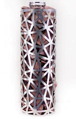 Сетка-каменка №2 (Лед) — d-300 — h-500 мм — нерж 1,5 мм AISI 430