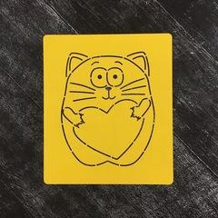 Кот с сердцем №16