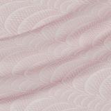 Шифон шёлковый в розовые волны