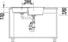 Blanco Metra 9E - схема