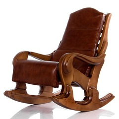 Кресло-качалка Классика (Светлый Орех)