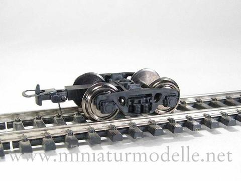 Тележка ЦНИИ-Х3, с колёсами 1:87 (длина поводка 20 мм)