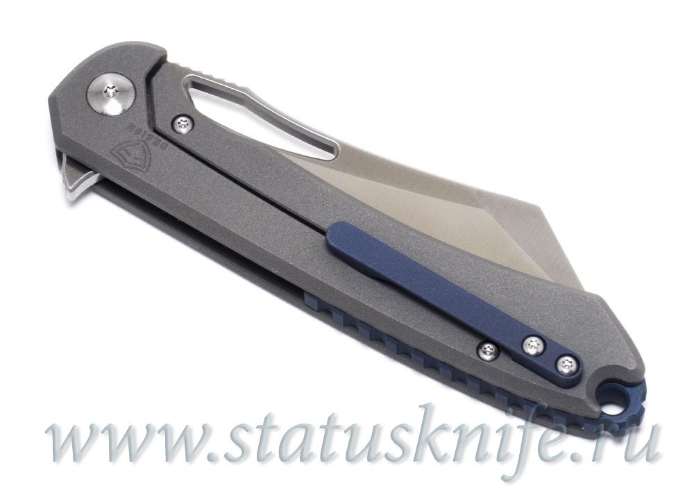 Нож Ferrum Forge Buc Titanium Frame Lock - фотография