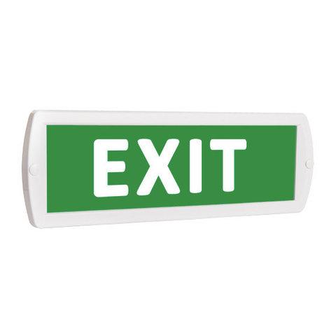 Световое табло оповещатель ТОПАЗ - EXIT (зеленый фон)