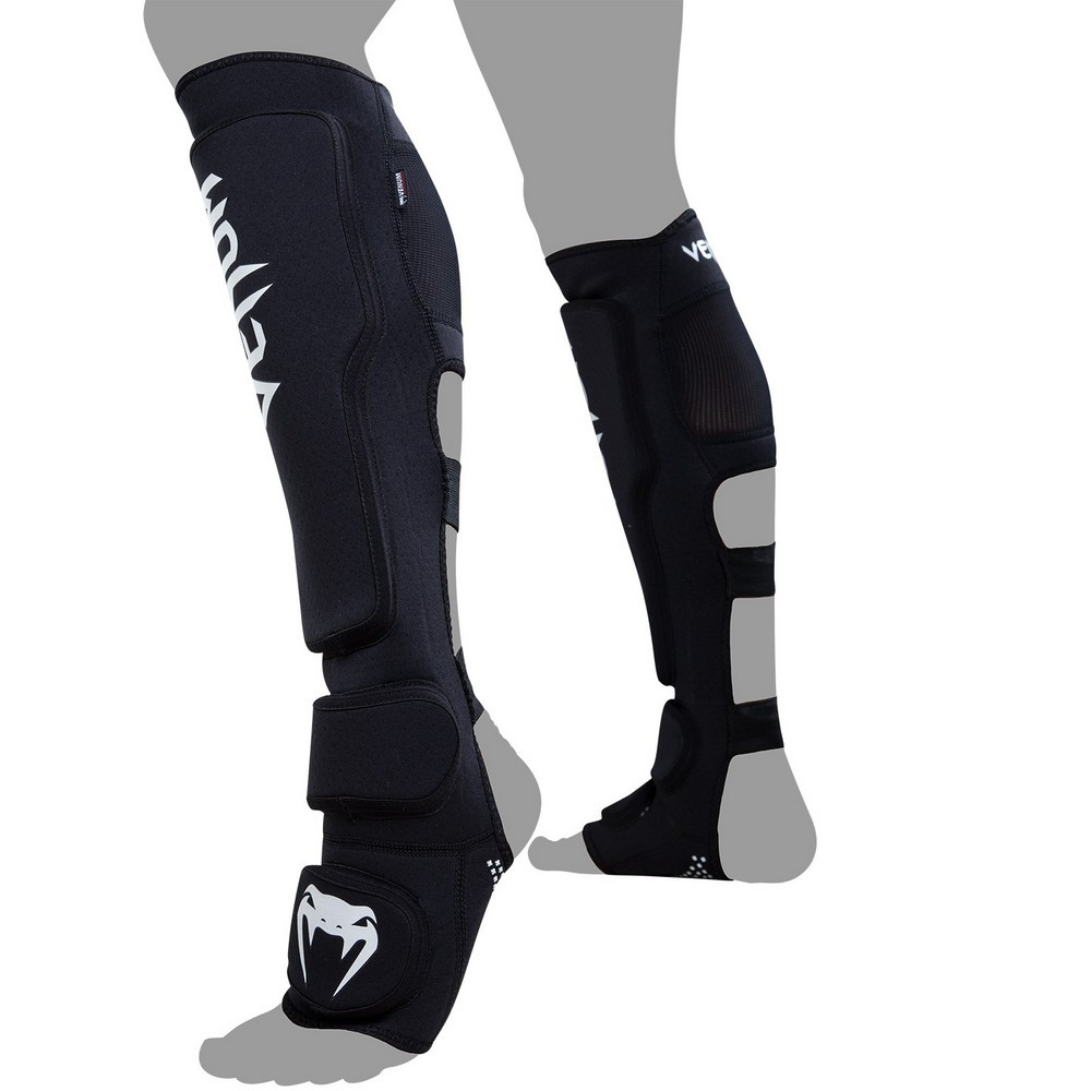 Защита ног Щитки Venum Kontact Evo Shinguards Black 1.jpg